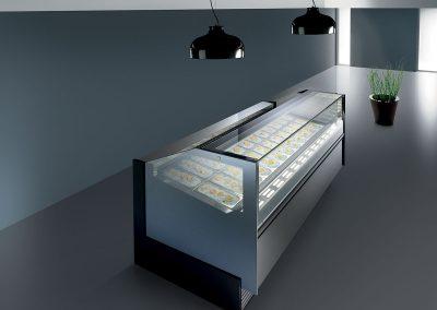 Witryna do lodów Frigomeccanica magnum