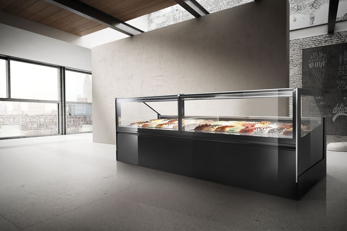 Witryna do lodów Frigmeccanica Premium