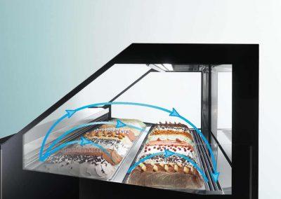 Witryna do lodow Frigomeccanica Premium