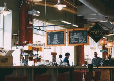 Miejsce sprzedaży kawy