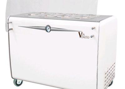 Witryna do lodów typu pozzetti Via Veneto 8C (8+6)